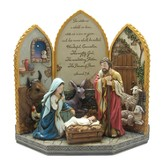 For Unto Us A Child Is Born Nativity, 4 Piece