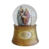 Holy Family Waterball from Legacy of Love