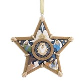 Legacy of Love, Carved Star Ornament