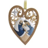 Legacy of Love, Carved Heart Ornament