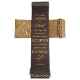 Legacy of Love, For God So Loved the World Wall Cross