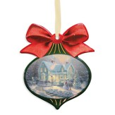 Thomas Kinkade, Blessings of Christmas - Slightly Imperfect