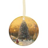 Thomas Kinkade, Town Square Christmas Ornament