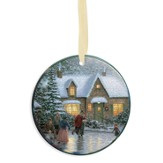 Thomas Kinkade, Skater's Pond Ornament