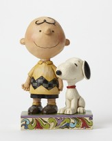 Peanuts Figurine, Friendship With Charlie Brown and Snoopy