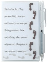 Footprints Memo Pad