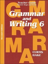 Hakes Grammar and Writing Grade 6 Teacher Guide    - Slightly Imperfect