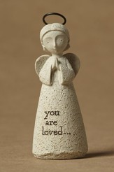 You are Loved! Bless You!(tm) Angel Figurine