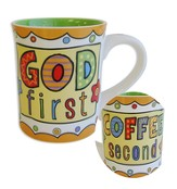 Mug, God First, Coffee Second