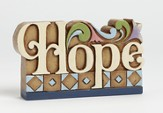 Hope Word Figure