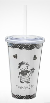 Daughter, Beverage Tumbler by Marci