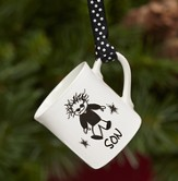 Son, Mini Mug Ornament by Marci