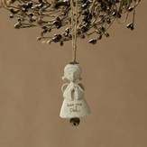 Dad, Bless You!(tm) Angel Ornament