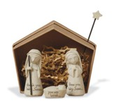 Nativity, Bless You!(tm) Angel Ornament