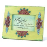 This is the Day Green Floral Plaque