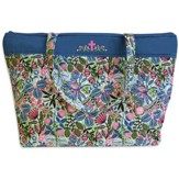 Vine and Floral Tote Bag