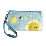 Bee Happy Wristlet