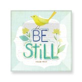 Be Still Glass Plate