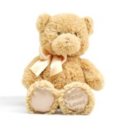 Jesus Loves Me Lullabye Teddy Bear, Tan by GUND