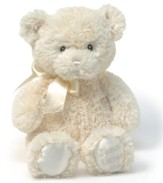 Jesus Loves Me Lullabye Teddy Bear, Cream by GUND