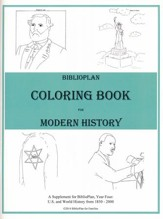 BiblioPlan Coloring Book for Modern History