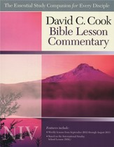 David C. Cook NIV Bible Lesson Commentary, 2012-2013 Edition