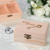 Love Never Fails, Ring Box