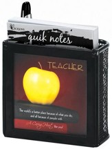 Teacher A Caring Heart Note Sheets
