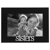 Sisters Photo Frame, Black