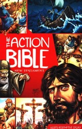 The Action Bible New Testament - Slightly Imperfect