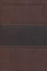NKJV Compact UltraThin Bible, Brown and Chocolate Imitation Leather
