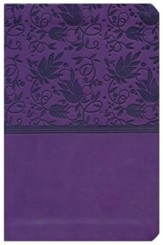 NKJV Compact UltraThin Bible, Purple Imitation Leather - Imperfectly Imprinted Bibles