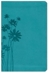 NKJV Compact UltraThin Bible, Teal Imitation Leather - Imperfectly Imprinted Bibles