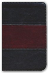 NKJV Compact UltraThin Bible, Saddle Brown Imitation Leather