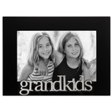 Grandkids Photo Frame, Black