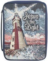 Jesus is the Light Tapestry Bible Cover, Medium