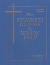 Preacher's Outline & Sermon Bible: KJV, Galatians-Ephesians- Philippians-Colossians Vol. 9