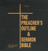 The Preacher's Outline & Sermon Bible: KJV Deluxe Matthew (Volume 1)
