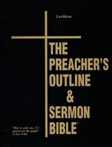 Leviticus [The Preacher's Outline & Sermon Bible, KJV Deluxe]