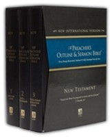 New Testament Set, 3 Vols [The Preacher's Outline & Sermon Bible, NIV]