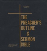 Preacher's Outline & Sermon Bible KJV: 1 Samuel Loose-Leaf Edition