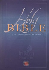 NAS Wide Margin In Touch Bible, Hardcover