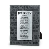 Journey, For I Know the Plans Plaque
