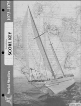 4th Edition Social Studies Score Keys 1073-1075