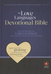 Love Languages Devotional Bible, NLT Hardcover  - Imperfectly Imprinted Bibles
