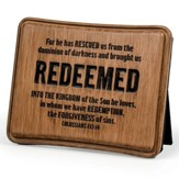 Redeemed Plaque