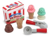 Scoop and Stack Ice Cream Cone Play Food Set