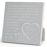 Joined Together in Love Plaque