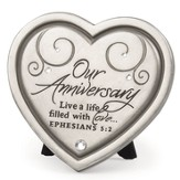 Our Anniversary Plaque