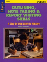Outlining, Note Taking, and Report Writing
